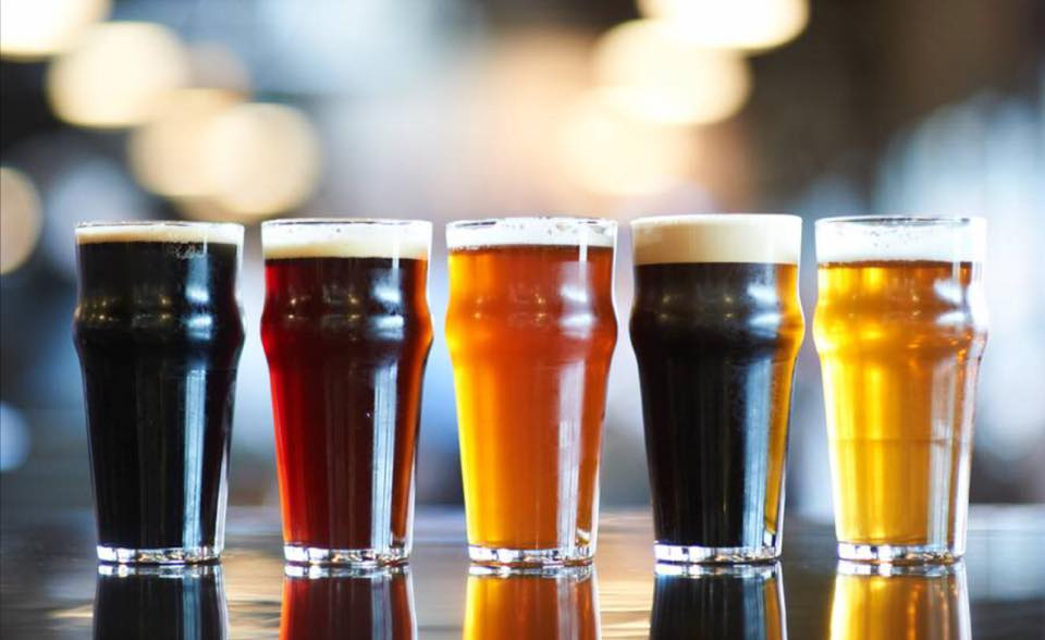 craft beers at Public House Taproom